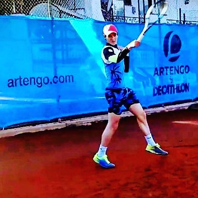 """Tennis Club New Country """"Felici del ritorno di Lorenzo Gessani nel nostro team agonistico di tennis"""""""