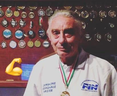 Tc New Country Frascati (nuoto), Gianfranco Piana stupisce ancora: due titoli regionali Master a 80 anni