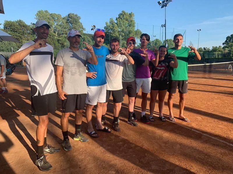 Tc New Country Frascati (tennis), prima squadra promossa: «E ora c'è la serie B nel mirino»