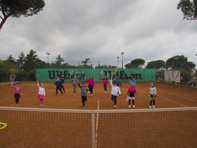 """Baby Tennis: """"Un gruppo numeroso"""""""