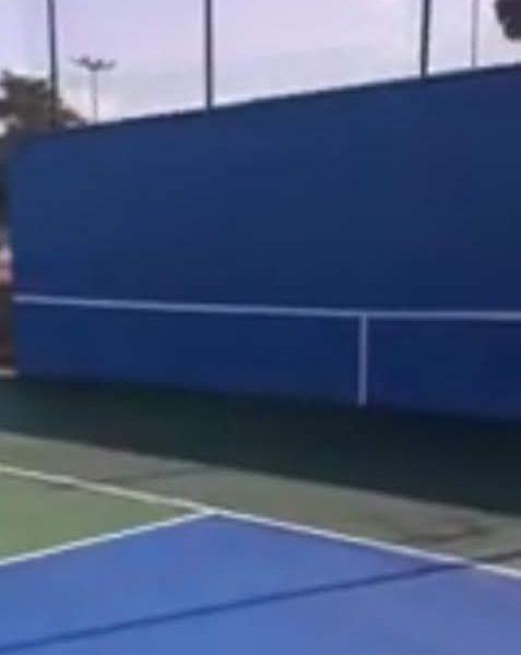 Tennis Wall Practice