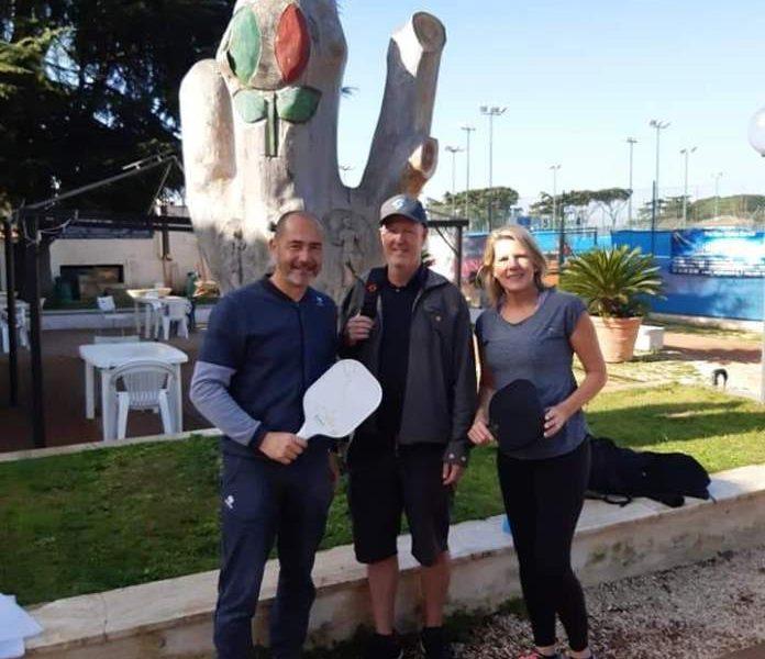New Country – Il campo da Pickleball tappa fissa dei turisti Americani a Roma