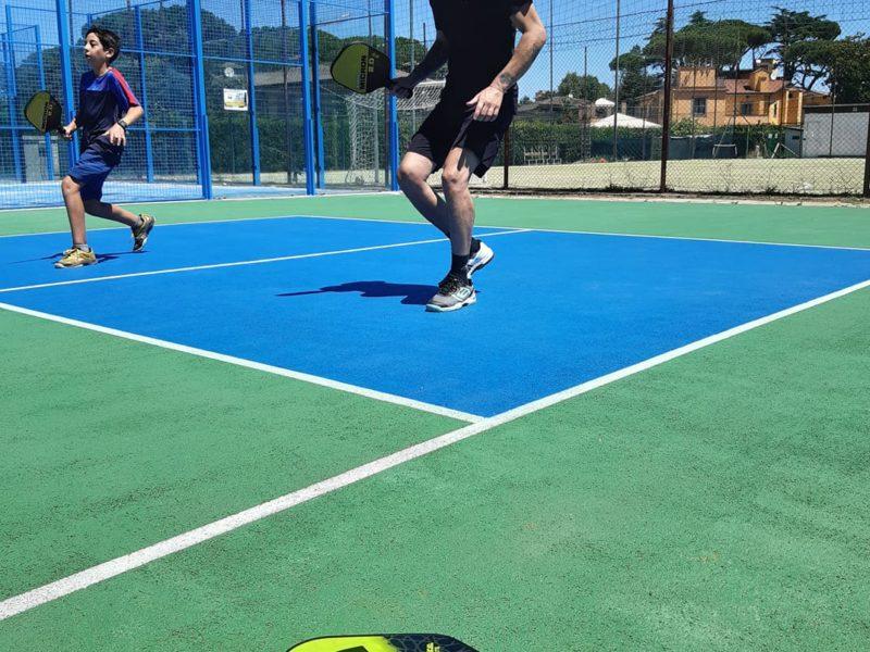 New Pickleball Court